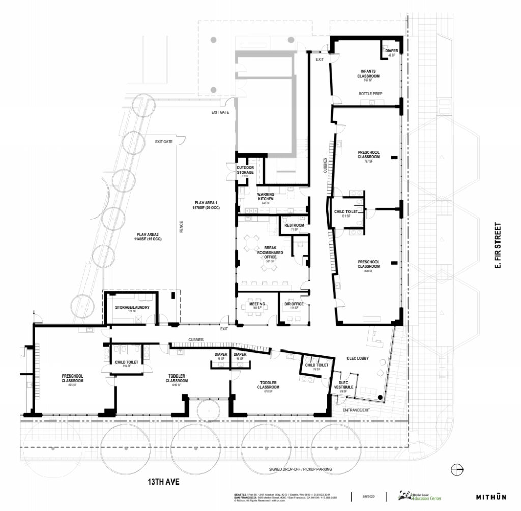 Yesler Terrace Project - FLoor Plan