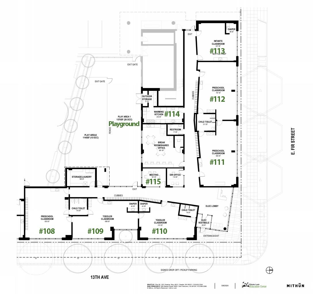 Yesler Terrace Project - Denise Louie Education Center